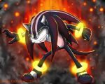 Darkspine Sonic by Chewilicious