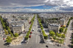 Arc de Triomphe - Top View 01 by GiardQatar