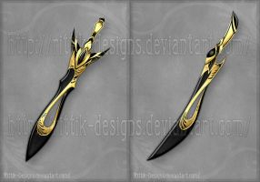Black Blades (CLOSED) by Rittik-Designs