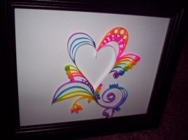 Rainbow quilling II by ThirteenthMuse