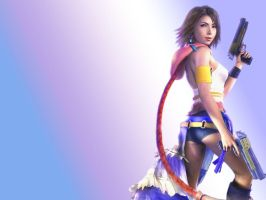 Yuna - Final Fantasy X2 by drudragon