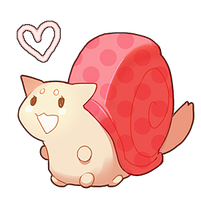 Pink Snail by kissai