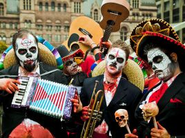 Mexican Zombies inToronto by CCHOY