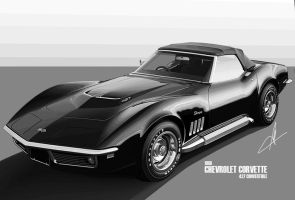 1968 Chevrolet Corvette 427 by m-a-p-c