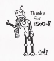Thanks for 1500 by gowsk