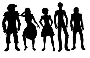 Silhouettes by Elorviel