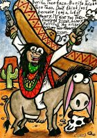 Completely political correct picture of a mexican by chricko