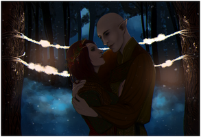 DAI: Old Ceremony {Solavellan} by LadyTheirin