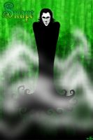 Snape in Green by mayflo