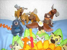 Brother Bear Disney Plush Collection *UPDATE* No 2 by kratosisy