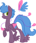 50PonyChallenge-  17# Feathers :CLOSED: by XantaL-XGB