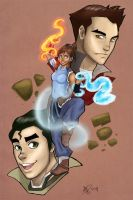 Avatar Korra by MallettePagano1