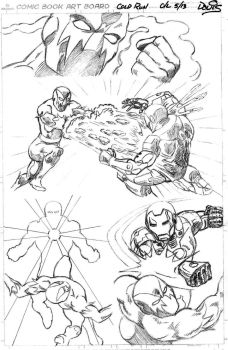 Ironman in Cold Run (Marvel submission Pt 1) by dondalier