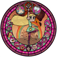Stained Glass Svfoe by Will290590