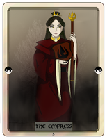 Avatar Tarot - The Empress by Purple-Twilek