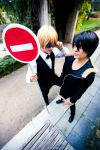 Shizu chan and Izaya by Suo-chan
