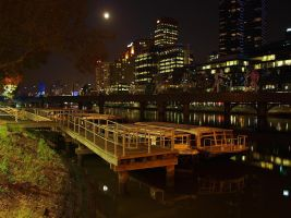 melbourne night by yanbanan