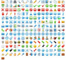 24x24 Free Application Icons by Ikont