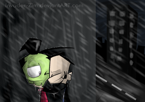 In These Filthy City Streets.. by Invader--ZIM