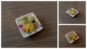 Summer Salad 1:12 scale by Sandien