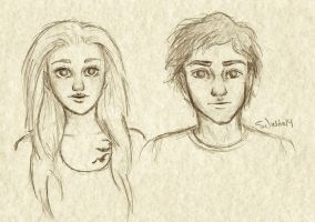 Tris and Tobias by Eyedowno