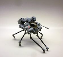Creeping Turret by SuperHardcoreDave