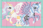 Celestia and Luna Pattern by jysalia