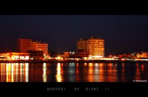 Durresi by Night by aemilor