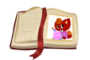 :The Labrador's Tome: Muffin the Fox by MuffinHTF