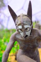 Eden Project Statue by CarrieFoto
