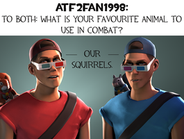 Ask CnD No. 119: Animals in COMBAT! by ZeFlyingMuppet