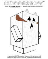 Cubeecraft - Wampa by CyberDrone