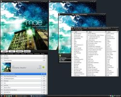 Verticalv2 skin for foobar2000 by mattwong