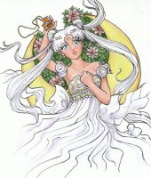 Princess Serenity by sakkysa