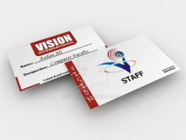 Vision ID CARD by shahjee2
