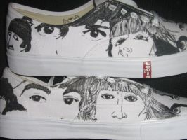 another Beatles sneaker side3 by brolicdesigns