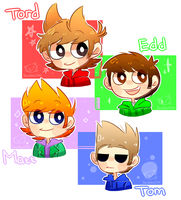 Eddsworld - The gang! by SachikoChii