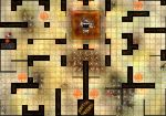 Minotaur Labyrinth D and D Map by robbdaman