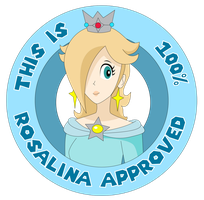 Princess Rosalina Seal of approval by ZeFrenchM