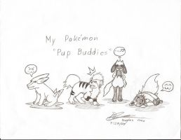 Pokemon - Pup Buddies by haseodragon