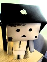 Danbo lives in Apple by XxRoyalbloodxX