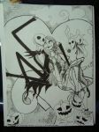 Jack And Sally. by JazziesFantasy016