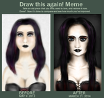 Draw This Again! Meme - Ebony Way by el-Jimmeister