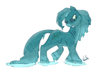 My Little Kelpie by DaBigBadWulf