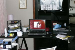 My desk and desktop by martine8719