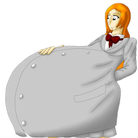 Orihime Pregnant by Oogies-wife67