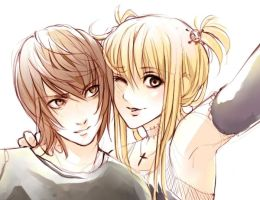 Light and Misa by MaGLIL
