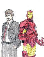Iron Man Tony Stark by rwrocks74