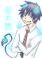 Rin Okumura by pearsfears