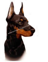 Doberman by Weirty